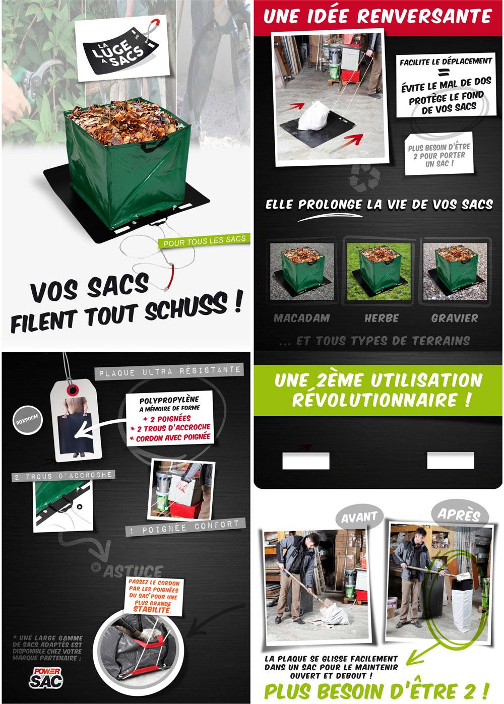 Transport et Déplacement Sac Gravats - Matériel Professionnel Chantier Batiment