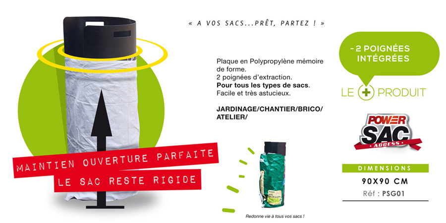 ReadySac pour sacs souples