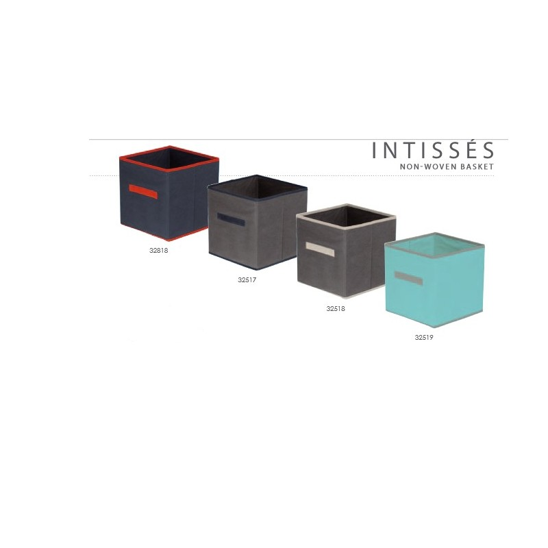 cube de rangement bicolores. Black Bedroom Furniture Sets. Home Design Ideas