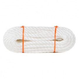 Corde blanche 6mm 25m