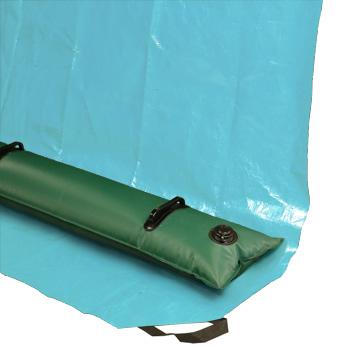 sac de lestage a eau ou boutin d'eau pour bache de piscine