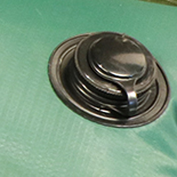 sac de lestage a eau ou boutin d'eau pour bache de piscine, poignée