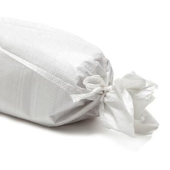 Sac de lestage blanc agricole pour tunnel, bache et filet. Culture jardin potager 2.5kg - Fermeture a lacet